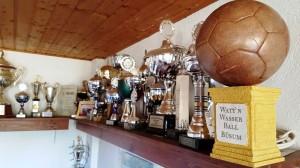 Wattn-Wasserball-Pokal im Clubhaus Hild