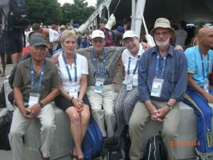 WM 2014 Montréal-Ekki im Kreis seiner Freunde